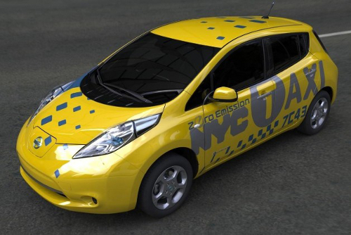 nissan1 All Electric Taxi Fleet for Virginia; Nissan Leaf Cars to Drive In