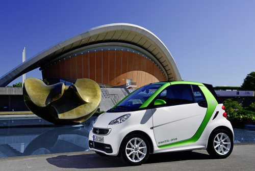 smart fortwo1 Smart ForTwo Electric Car Is the Cheapest Ev So Far
