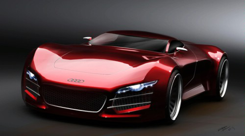 audi1 Audi R10 Diesel Hybrid Supercar in the Works