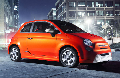 car13 Fiat 500e Images Out Ahead of LA Show