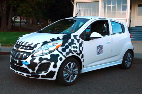 carr11 Chevy Spark EV Prototype Electric Car Ready to Drive In