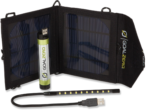 chrgr1 Goal Zero Switch 8 Solar Recharger is Your Easy to Use Portable Companion