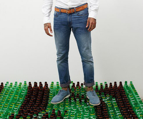 jeans1 Levis Jeans Made Out of Plastic Bottles