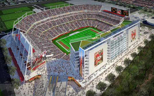 49ers San Francisco 49ers New Stadium to be the First LEED Certified Stadium