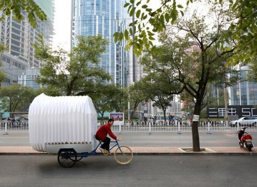 Tricycle Tricycle House is a Home and Garden for the Landless