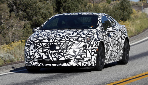 cadillac elr driving Cadillac ELR Image Released Before Detroit Auto Show