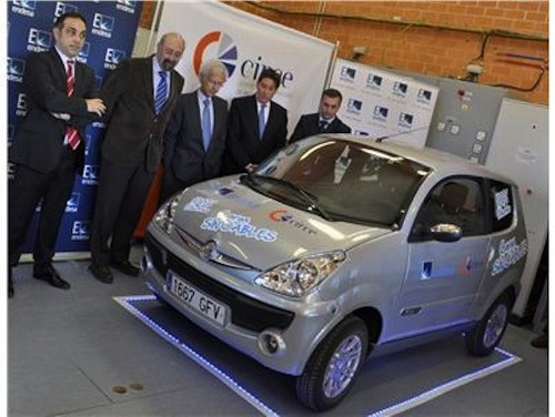 endesa First Ever Wireless Fast Charging Technology Unveiled