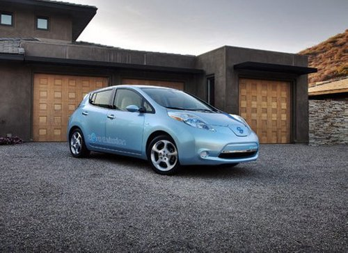 nissan leaf electric car NHTSA Proposes Minimum Sound Standards for Hybrid and Electric Vehicles