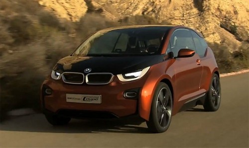 bmwi3vid Germany to Boast One Million Plug in Vehicles by 2020