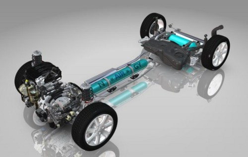 citroen air hybrid geneva Citroen Air Hybrid Powertrain Set for Geneva Unveiling