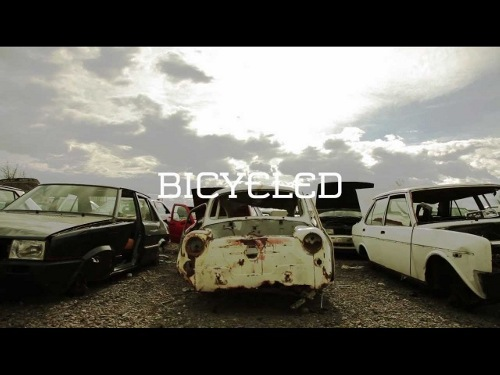 cycle Bicycles Made From Dumped Old Cars are Awesome