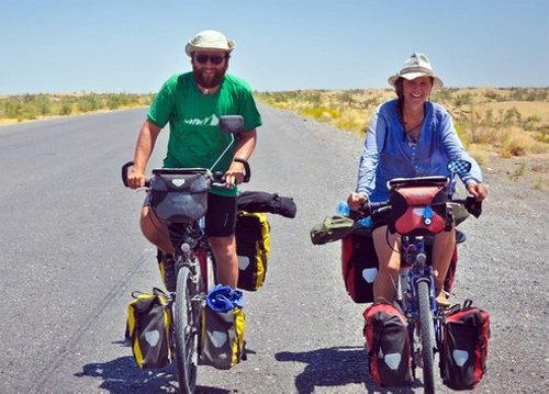 rip biking theworld Young Couple Who Cycled Around the Globe Killed in Road Mishap