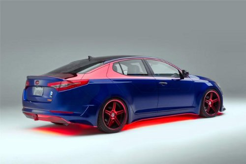 superman Kia Superman Inspired Hybrid Car Gets Chicago Showcase