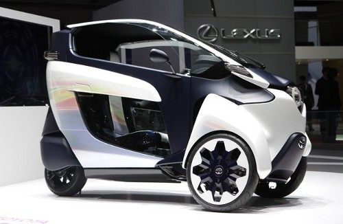 003 toyota i road concept628opt Toyota Grenoble to Launch EV Car Sharing Program in France