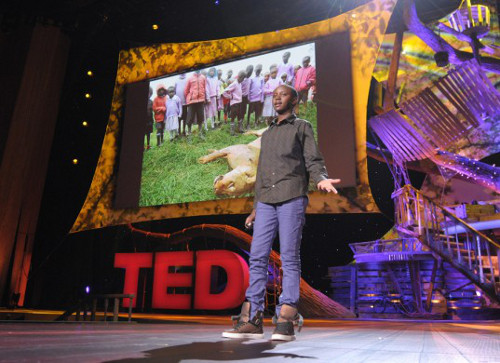 Richard Turere Kenyan Teen Invents LED System to Protect Livestock