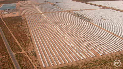 Solarplant 050406 cc Saudi Arabia plans to become 'clean energy' nation
