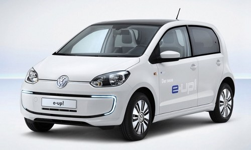 volkswagen e up Volkswagen e up! with combined charging system