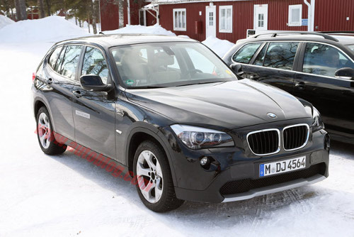bmw x1 ev spy shots628opt BMW X1 Leaked Image Suggests All Electric Version in the Pipeline