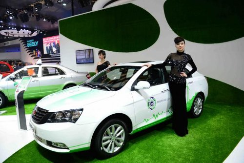 geely Geely Detroit Electric EC7 EV Gets Ready for China