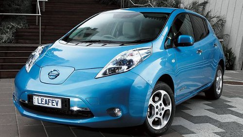 nissan leaf Nissan Leaf Sales Touch 25,000 in the US