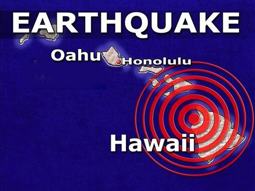 hawaii earthquake Hawaii Earthquake Magnitude Downgraded to 5.3; No Tsunami Scare