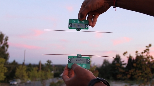 ambientbackscatter Wireless Devices to Look at TV Towers for Power