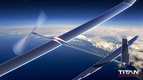 titan solar drone Solara 50 Solar Plane Can Stay Airborne for 5 Years