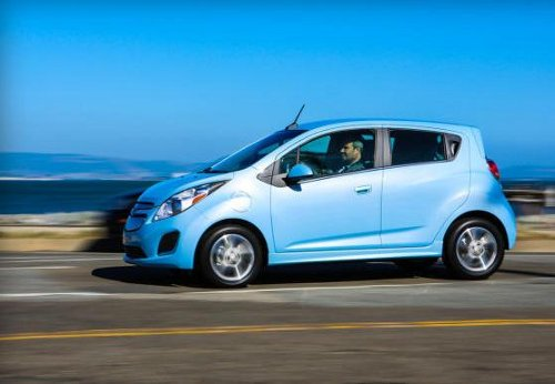 Chevrolet Spark Chevrolet Spark EV is Great for Urban Drives