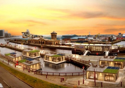 srt ecobuild1 Edinburgh to be Home to Solar Powered Floating Village