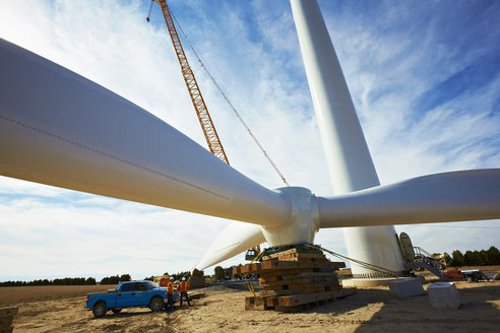 wind turbine Google Makes Green Energy Leap with Purchase of 240MW of Wind Power