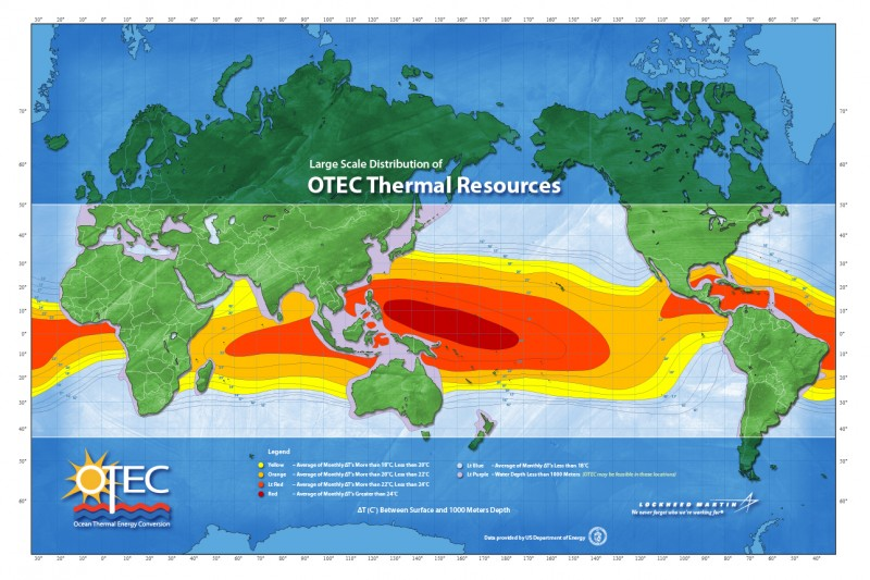 OTEC-Resource Map