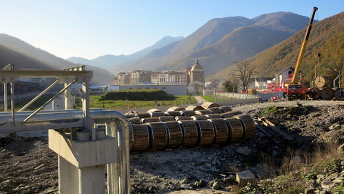 sochi olympics Winter Olympics Host Russia Faces Waste Hassle
