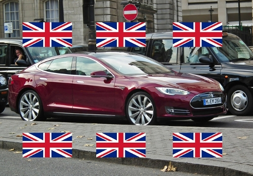 tesla Tesla Model S to Start Rolling Out in the UK for £49,900