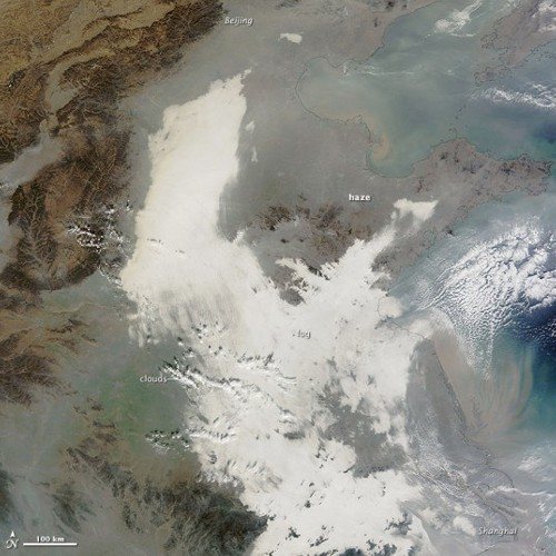 China pollution China Battles a Worrying Case of Air Pollution