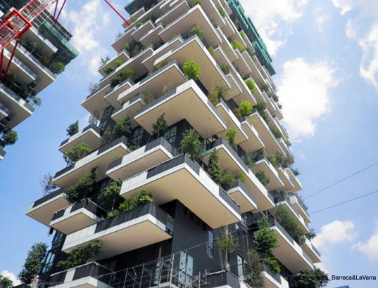 Bosco Verticale Bosco Verticale Vertical Forest Nearing Completion in Milan