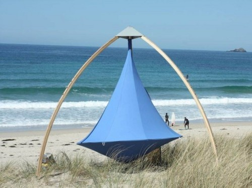 beach cacoon Cacoon Hanging Tents Can Accompany You on the Go