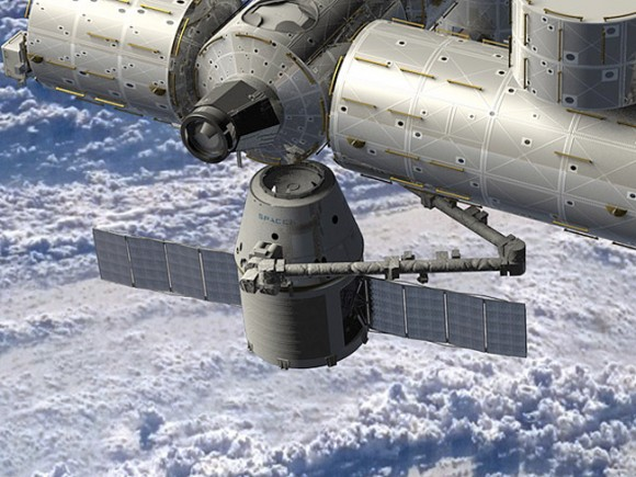 Dragon Docks At International Space Station Successfully1 [Video] After 36 Hours, Dragon Docks At International Space Station Successfully
