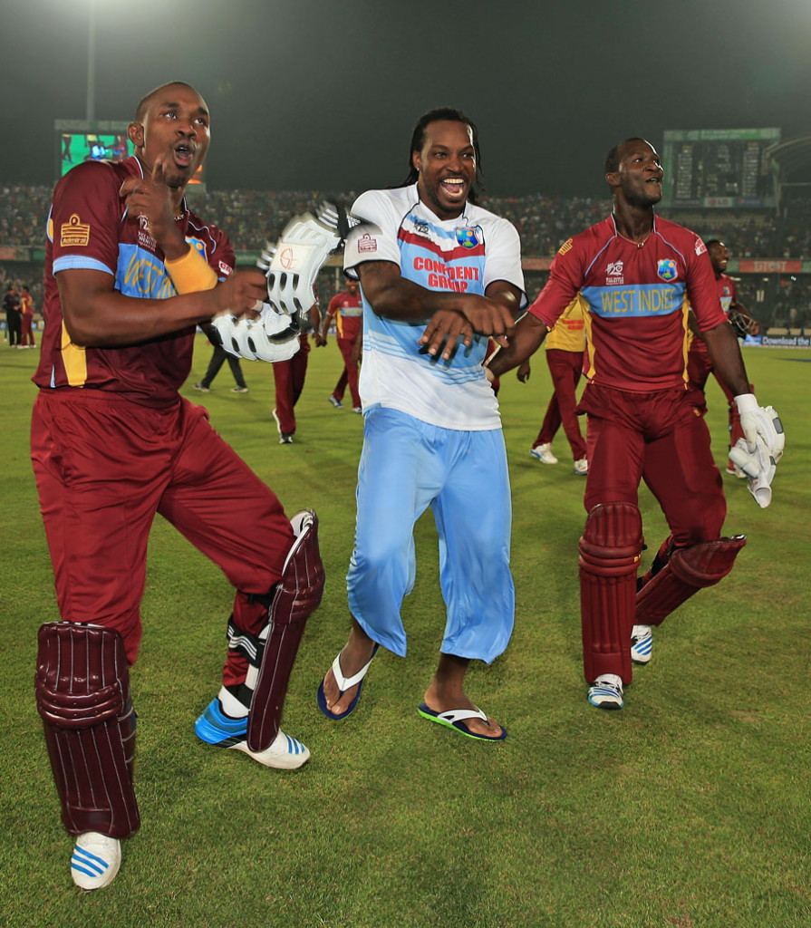 Gayle Gangnam style t20 2014 895x1024 Sri Lanka vs West Indies Semi Final T20 World Cup 2014: Star Sports live streaming info, highlights