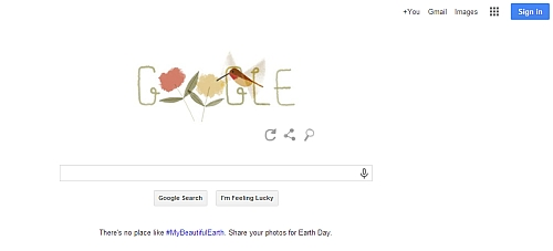 Google Earth Day Doodle Earth Day 2014: Google Doodle Brings Together Six Different Species Of Wildlife