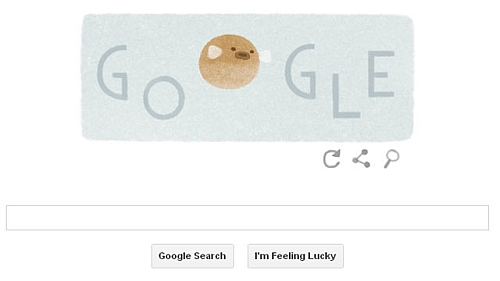 Google Earth Day Puffer Fish Doodle Earth Day 2014: Google Doodle Brings Together Six Different Species Of Wildlife