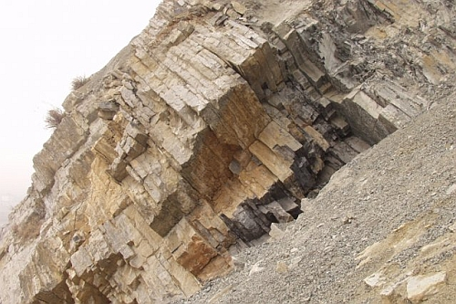 Permian triassic boundary at Meishan in China Microbes, Not Volcanoes, Caused Earth's Largest Mass Extinction!