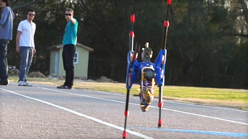 OutRunner Robot can take on a slow moving car with ease Video: Bring Home A Six Legged Robot That Can Take On Your Car