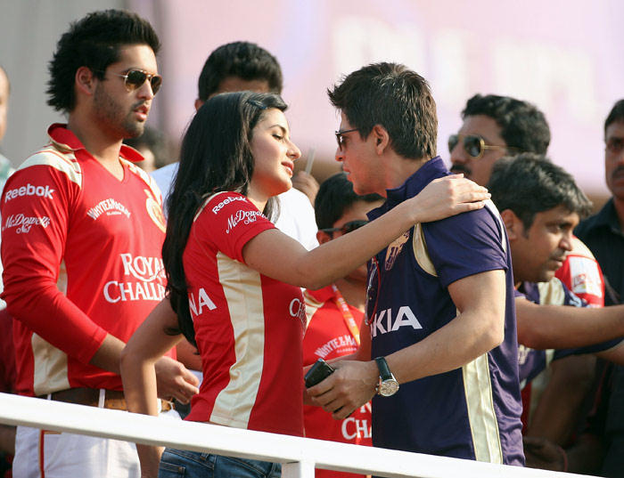 SRK Katrina at IPL Watch IPL 7 live streaming and score on StarSports.com and GoCricket websites