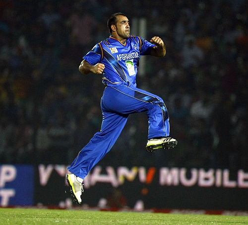 Samiullah Shenwari of the Afghan Team will look to put in a big performance Nepal vs Afghanistan: ACC Premiere League 2014, Cricket live score and highlights