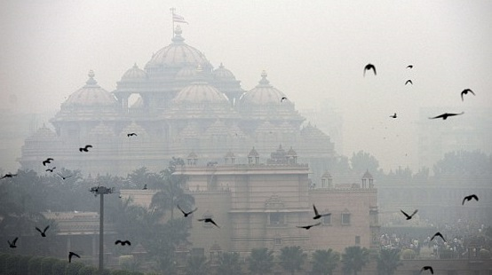 delhi polution1 WHO Reports Dubs Delhi The Most Polluted City In The World