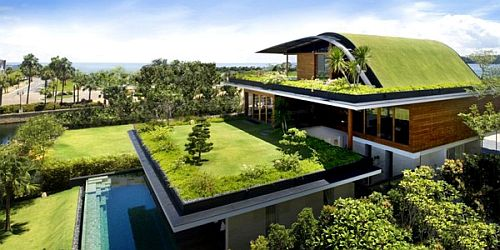 green roof home Green Homes Sell Better