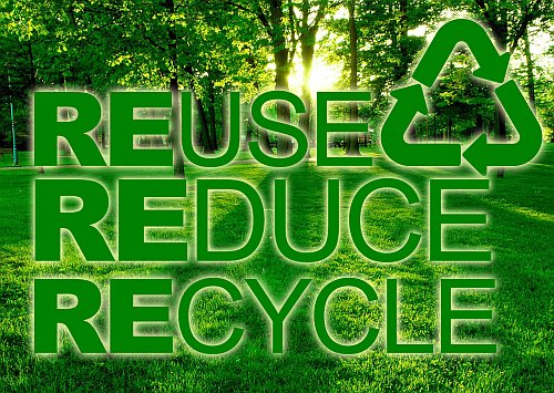 reduce reuse recycle The Three R(s) Apply to Foundations, Too