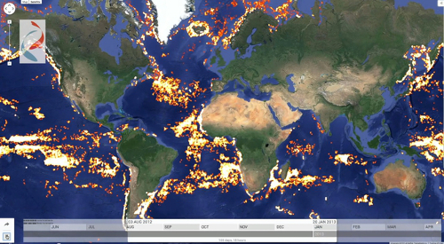 global fishing watch.jpg. Google Out in the Ocean; New Initiative Launched to Track Down Overfishing