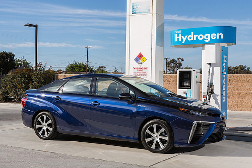 hydrogen fuel station Toyota Making its Hydrogen Fuel Cell Patents Open Source